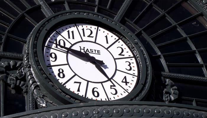 Todo tiene su tiempo
