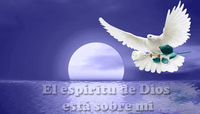 """""""El Espíritu de Dios está sobre mí"""""""