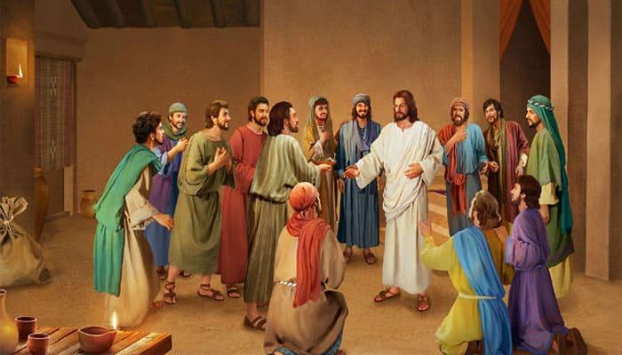 Aparición de Jesús ante sus discípulos luego de la resurrección