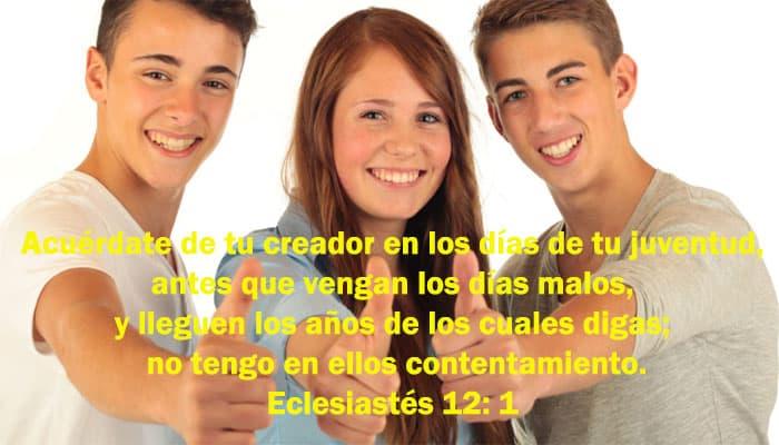 Citas bíblicas para jóvenes