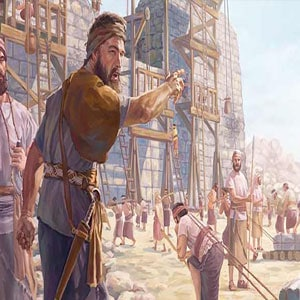 Nehemiah helped the prophet Ezra establish and enforce the law of the covenant