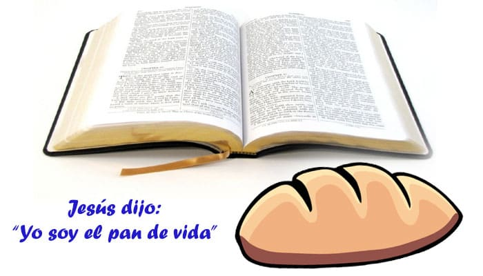 """Jesús dijo: """"yo soy el pan de vida"""""""