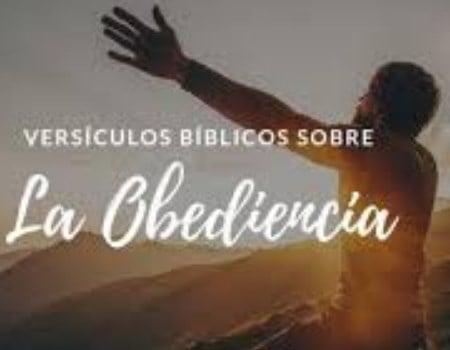 Versículos sobre obediencia