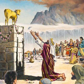 Idolatría en la biblia