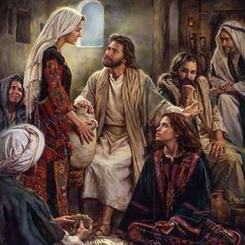Lucas 10 38-42: María se sentó a los pies de Jesús