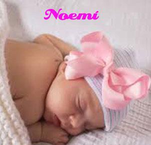 Significado bíblico del nombre Noemí