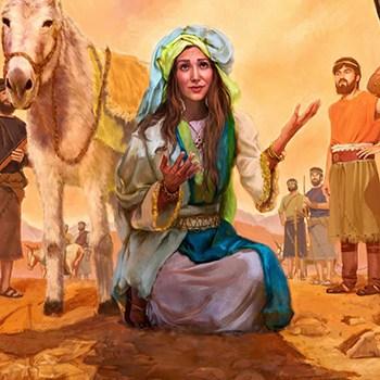 Abigail en la biblia