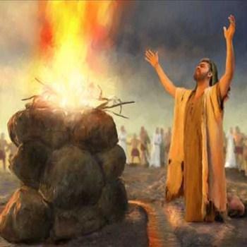 El Dios que respondiere con fuego ese sea Dios.