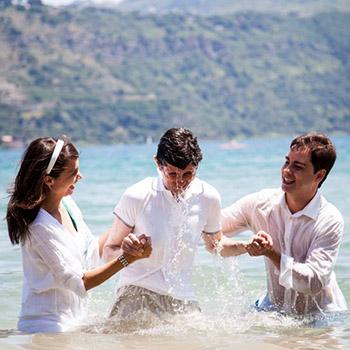 Versículos del bautismo